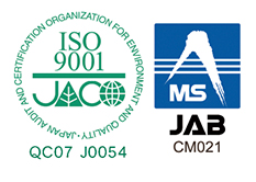ISO9001など品質表示